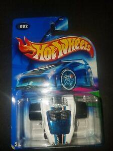 2004 Hot Wheels First Editions Fatbax Jacknabbit Special White 92