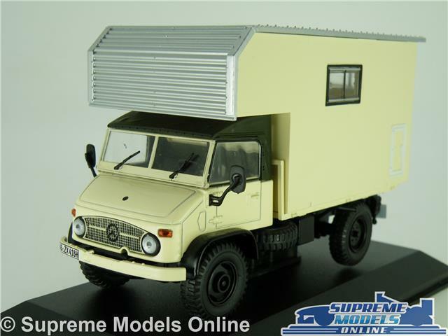 MERCEDES UNIMOG S 404.414 MODEL CAMPER VAN 1 43 SCALE IXO MOTOR HOME 1969 K8