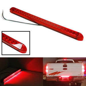 Submersible Red 23led Light Bar Stop Turn Tail 3rd Brake