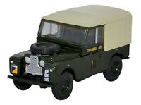 Oxford Diecast Land Rover Series 1 88 Canvas 6th Training Regiment Rct Oo 1/76