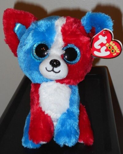 VALOR the Dog Cracker Barrel Exclusive 6 Inch NEW MWMT Ty Beanie Boos