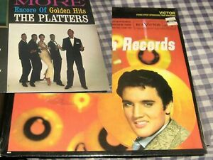 Elvis Golden Records 33 RPM New,SEALED Package + Platters Golden Hits,Free Ship