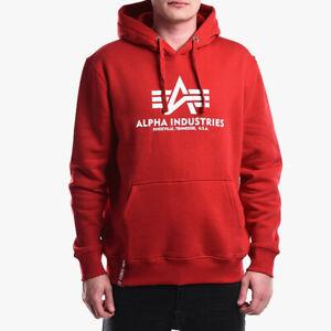 Alpha Industries Basic Hoody Sweatshirt Kapuzen Pullover Hoodie navy 178312-463