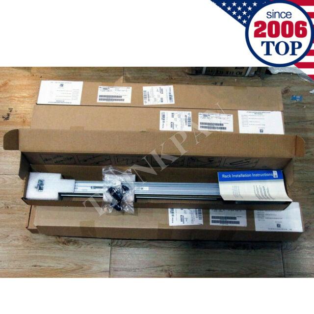 DELL POWEREDGE R320 R420 R620 SERVER RAILS SLIDING II 1U RAIL KIT 9D83F A7