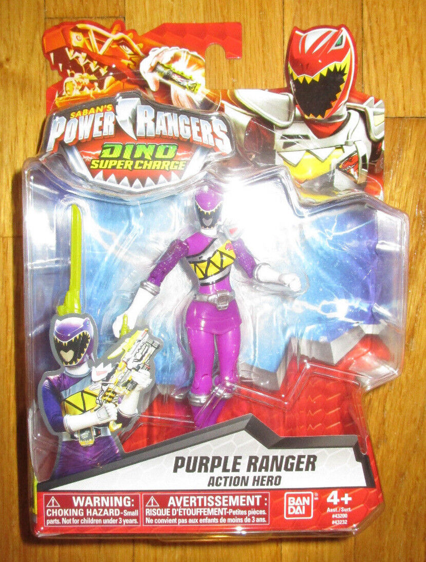 POWER RANGERS DINO SUPERCHARGE viola RANGER SUPER CHARGE 43232