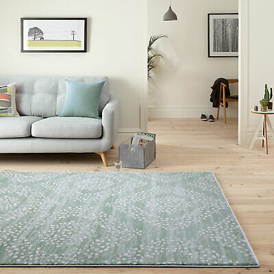 Floor Rugs Soft Plush Moroccan Trellis