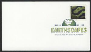 #4710e Earthscapes: Inland Marsh, Digital Color FDC Cualquier 5=