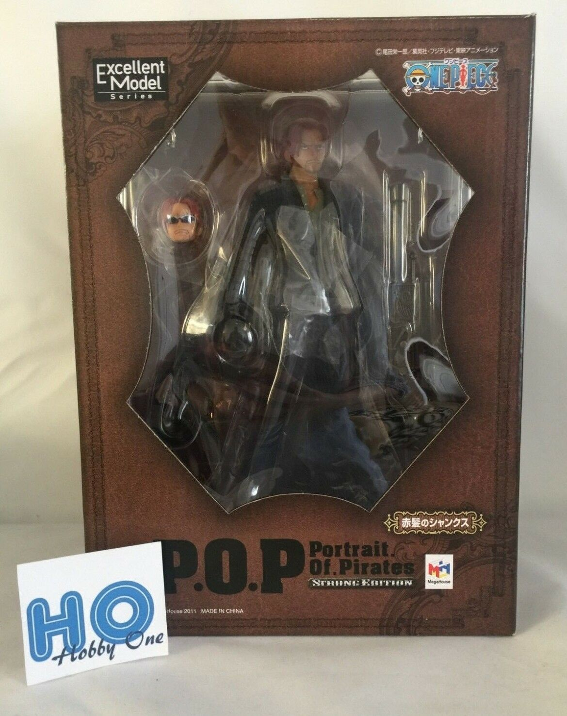 One Piece - Shanks Strong Edition - P.O.P. ( Portrait of Pirates ) - Authentic