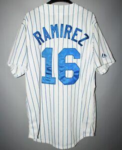 CHICAGO-CUBS-BASEBALL-JERSEY-MLB-MAJESTIC-16-ARAMIS-RAMIREZ-PINSTRIPE