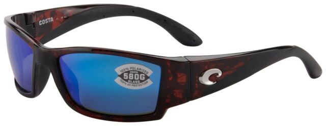 15ff4d5ebf4a Costa Del Mar Corbina Sunglasses CB-10-OBMGLP Tortoise 580G Blue Polarized  Lens