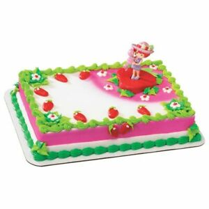Sensational New Strawberry Shortcake Cake Topper Best Friends Custard Ebay Funny Birthday Cards Online Elaedamsfinfo