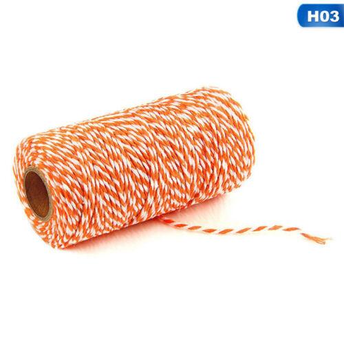 100m cordón de algodón Bakers Twine paquete Cadena Cinta Envoltura Práctico Estilo Caliente