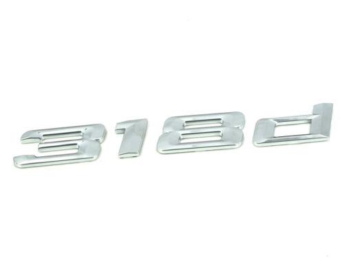 Genuine New BMW insigne 318D pour Série 3 E46 E90 E91 F30 F31 berline coupé break