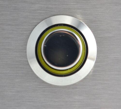 Edelstahl Klingelplatte Rechteck-Klingeltaster mit//ohne Beleuchtung-120x50 mm