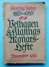 Velhagen & Klasing Monatshefte, November 1935