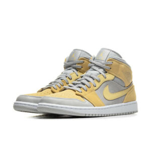 Details about Nike Air Jordan 1 Mid Mixed Textures Yellow Size 11.5 DA4666-001 Grey. Yellow