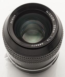 Nikon-Nikkor-Ai-35mm-35-mm-1-1-4-1-4-manuell-Objektiv-Fachhaendler