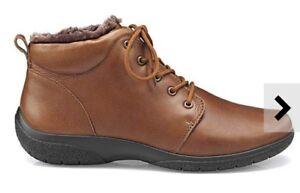 Size Tan Dark Boots Hotter Womens Ellery Uk Std Ankle 7 EF0nRqUxS