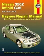 Nissan 350Z & Infiniti G35, 2003-2008 (Haynes Repair Manual), , New Book