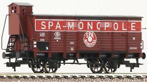 Fleischmann-535808-Refrigerated-wagon-SPA-SNCB