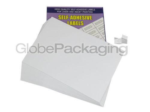 OFFERTA * 50 fogli-del 12 per foglio-Qualità A4 facile BUCCIA Stampante etichette indirizzo