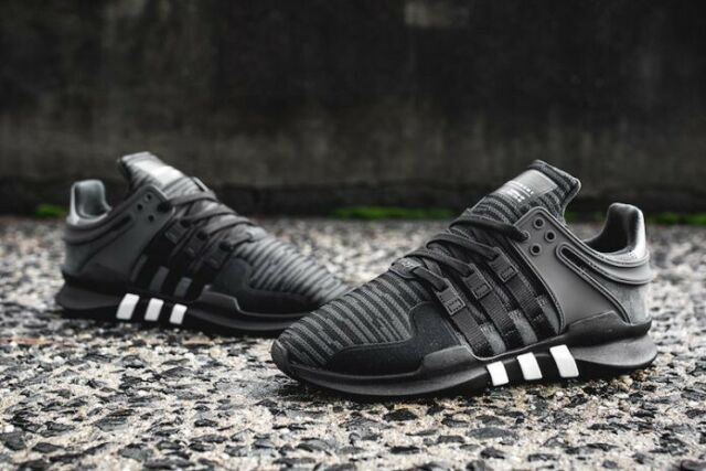 Mens Adidas EQT Support ADV Equipment Core Black Solid Grey