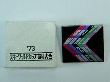 Vecchia spilla SKI WORLD CUP NAEBA 1973 GIAPPONE Japan SCI pin   vintage