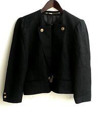 Damen Trachten Janker Jacke schwarz Gr. 40 v. Hucke