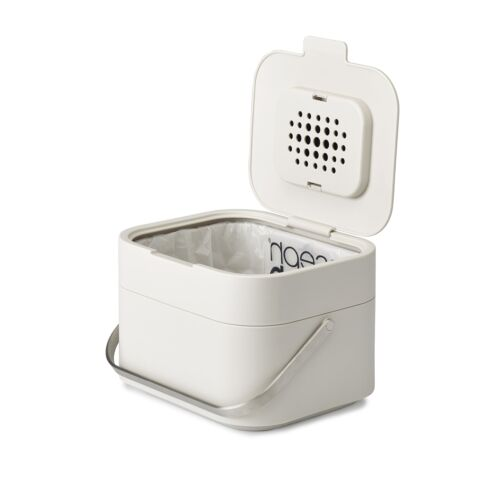 ... Joseph Joseph Intelligent Waste Stack 4 Food Waste Caddy with Odour Filter