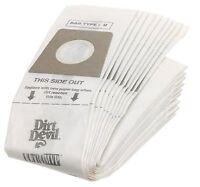 Dirt Devil Type U Vacuum Bags (10-pack), 3920048001