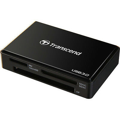 Transcend USB 3.0 Card Reader (RDF8K) SDHC/MICROSD/CF/PRO DUO