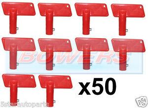 50x-BATTERY-RED-CUT-OFF-KILL-ISOLATOR-SWITCH-SPARE-KEYS-CAR-BOAT-RALLY-MARINE