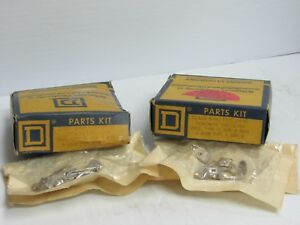 LOT OF 2 SQUARE D 9998-PC15 CONTACT KIT  FOR   PRESSURE  SWITCH  FREE SHIPPING