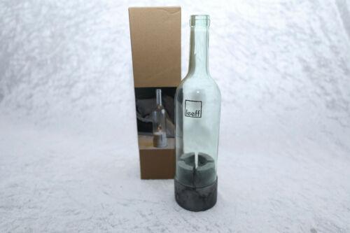 Flaschenlicht Terassen-Windlicht  Leeff bottle light Teelichthalter Tischdeko