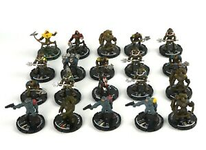 Mage-Knight-STEAMPUNK-MINIATURE-LOT-x20-D-amp-D-Minis-Dungeons-Black-Powder-Rebels-7