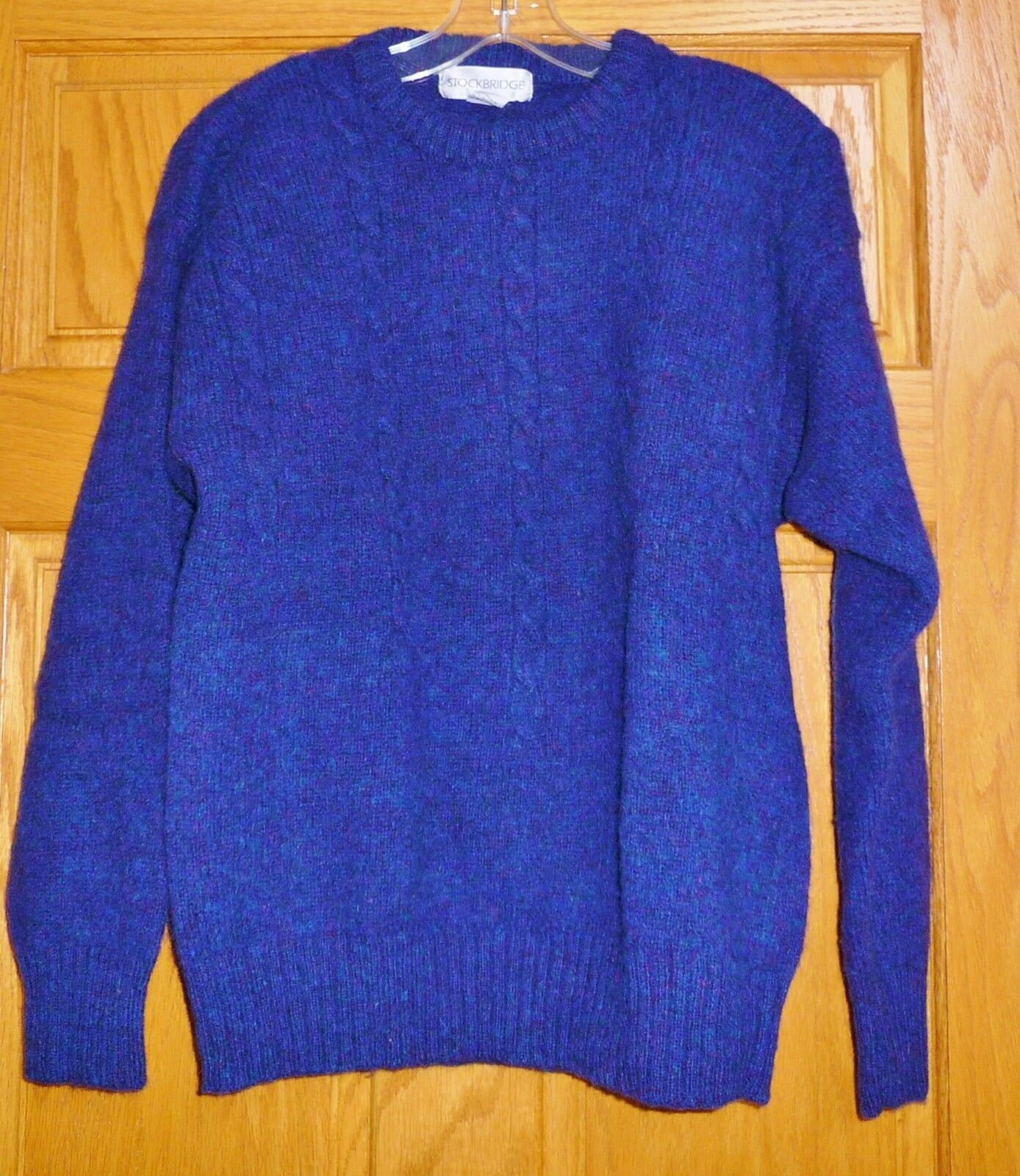 VTG  MENS  WOOL SWEATER
