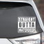 """Straight Outta Waterdeep Vinyl Sticker Decal 4/"""" x 3.5/"""" Dungeons and Dragons"""