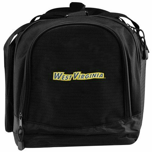3 of 4 West Virginia Mountaineers Duffel Travel Bag Sports Duffel Bag Flyby  Style LARGE b784399442f3e