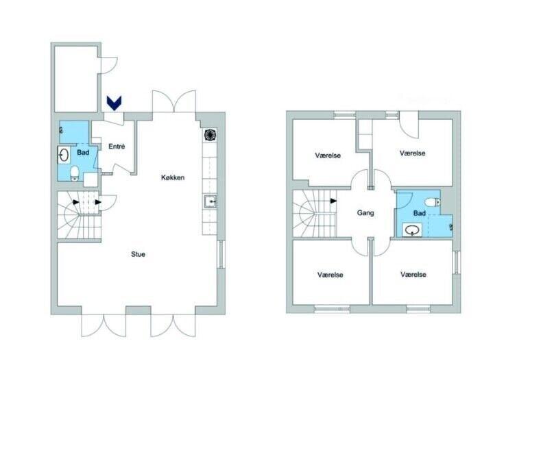 2610 vær. 5 lejlighed, m2 127, Islev Have