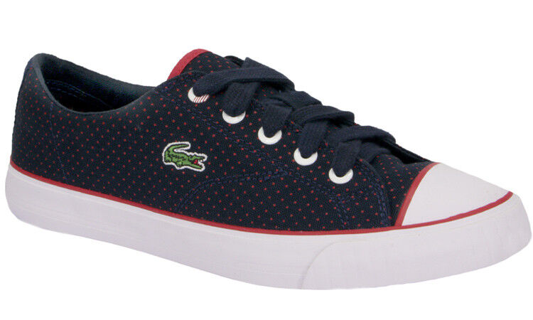 Lacoste Schuhe LACOSTE mod. LYNDON LACE Col. Blu/Rosso