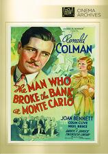 The Man Who Broke the Bank at Monte Carlo 1935 (DVD) Ronald Colman, Joan Bennett