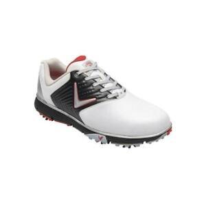 Callaway-Golf-Mulligan-S-Waterproof-Golf-Shoes-White-Black-Red-UK-12