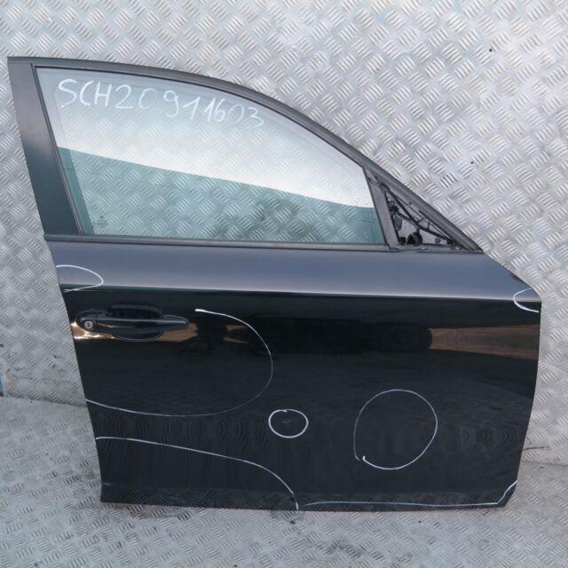 BMW 1 SERIES E87 E87N Door Front Right O/S Black Schwarz 2 - 668