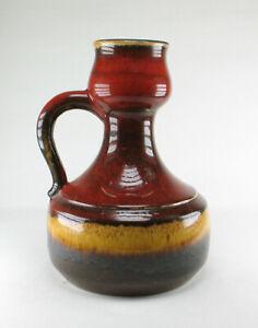 Grosse-Marei-Keramik-Vase-60er-Jahre-Fat-Lava-Stil-wgp-space-age-pottery-mcm