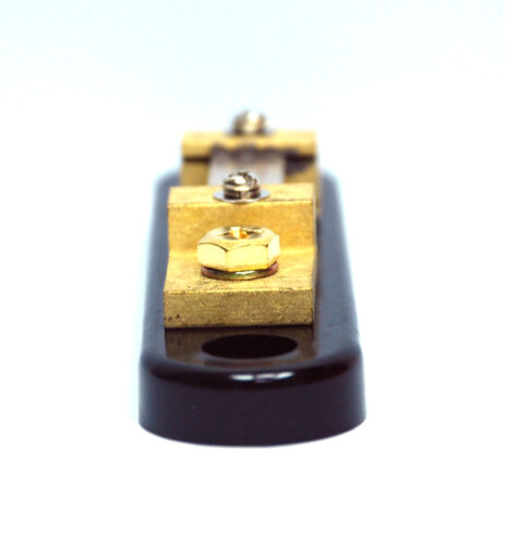1pc DC Current Shunt DC 75A 50mV Class2 Size=135x30x26mm LxWxH SD Taiwan