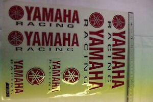 Pegatina-Set-Yamaha-de-Carreras-Rojo