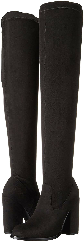 NEW Sol Sana Sana Sana Women's Black Suede Knee-High Boots Size  EUR 41 NEW d4c831