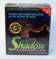 The Shadow Chronicles - 5 Cds (1999, Cd / Hardcover, Collector's, Limited)
