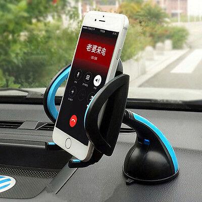 Universal Car Windshield Dashboard Desktop Holder Mount Mobile Phone GPS Cradle