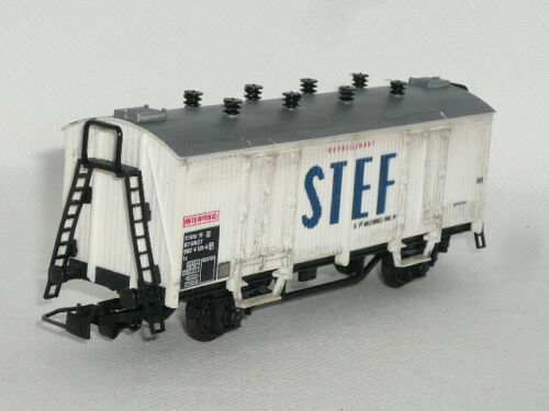 Jouef sehr gut erhalten Spur H0 prfofessionell gealtert Güterwagen Stef